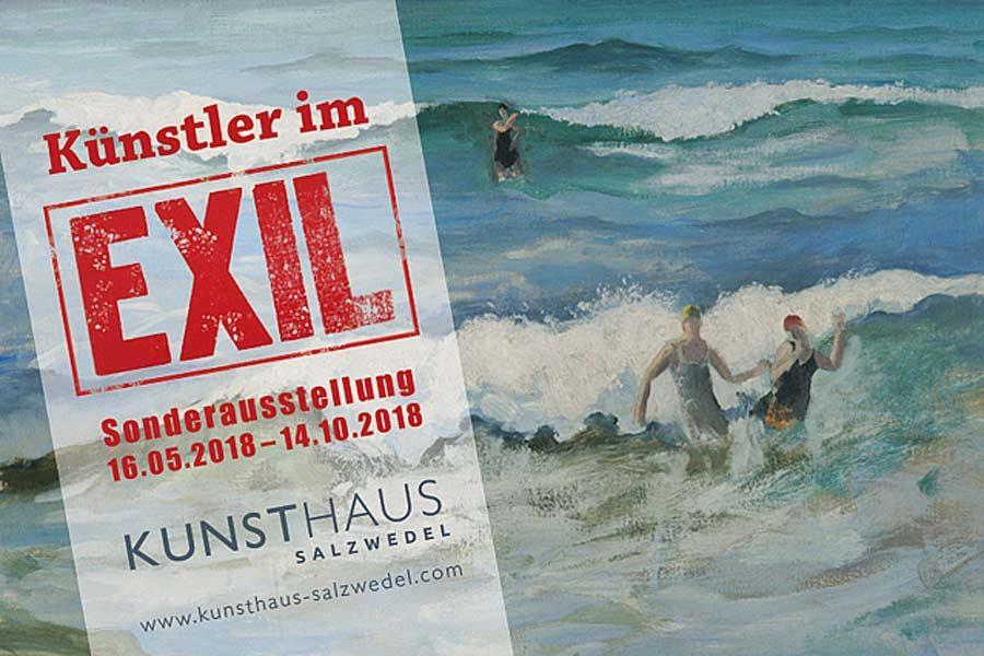 Lektorat der Texte für das Kunsthaus Salzwedel: Künstler im Exil